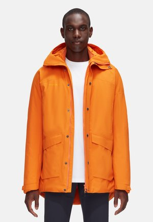 CHAMUERA HS THERMO HOODED - Winter coat - dark cheddar