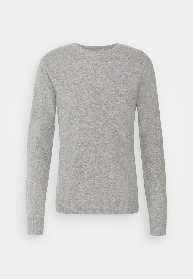 Neule - light grey melange