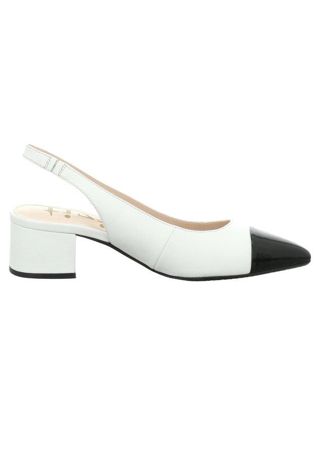 Classic heels - schwarz-weiss