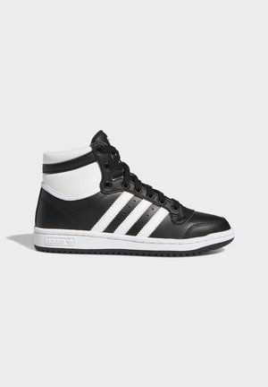 TOP TEN SHOES - High-top trainers - black