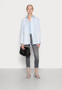 s.Oliver - Basic T-shirt - blue fog - 1