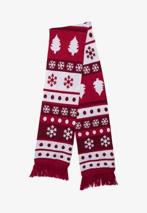 CHRISTMAS - Sciarpa - red/white