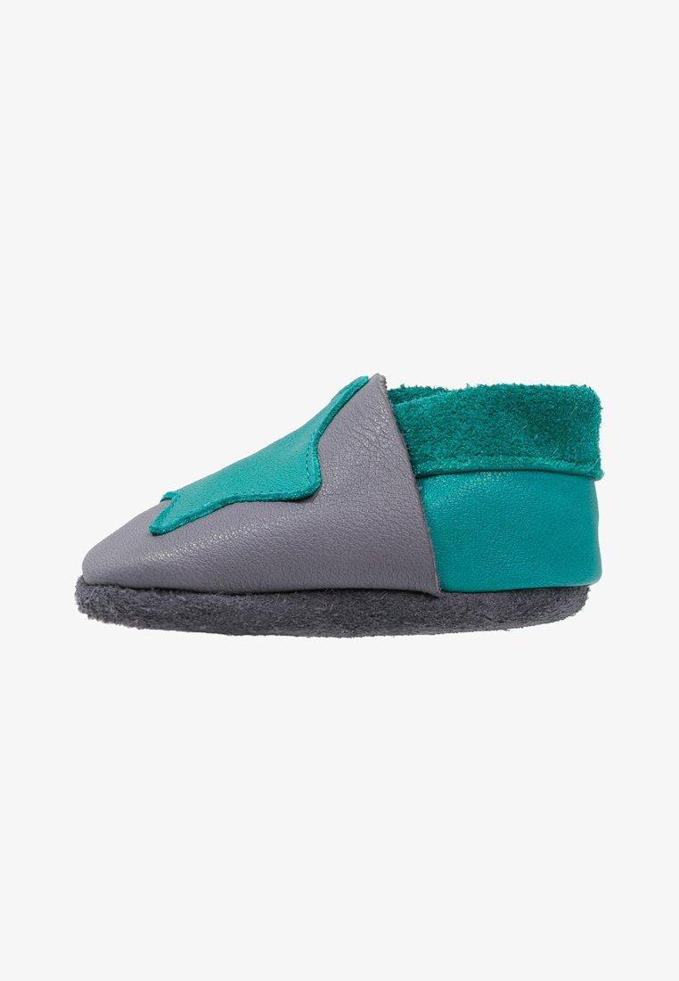 POLOLO - KLEINER STERN  - First shoes - graphit/waikiki