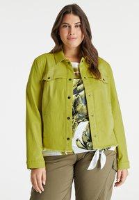 Samoon - Denim jacket - citronella - 0