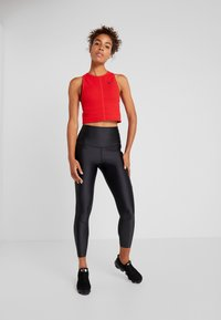Nike Performance - TANK REBEL - Tekninen urheilupaita - university red/black - 1