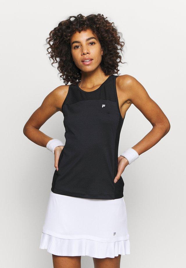 MINA - T-shirt sportiva - black