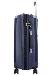Hardware - Wheeled suitcase - blue - 2