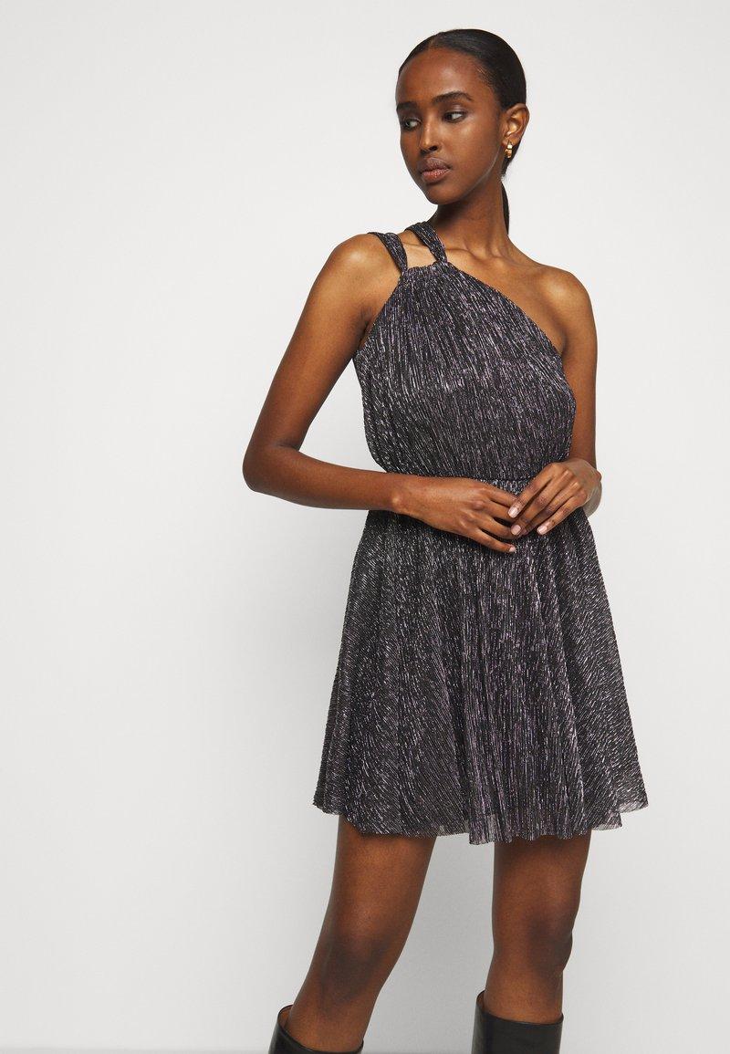 maje - RIANE - Cocktail dress / Party dress - argent
