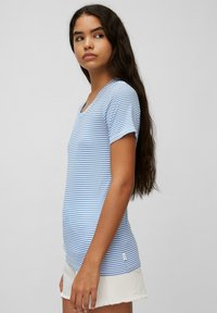 Marc O'Polo DENIM - Print T-shirt - multi/intense blue - 3