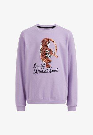MET EMBROIDERY - Sweatshirt - lilac