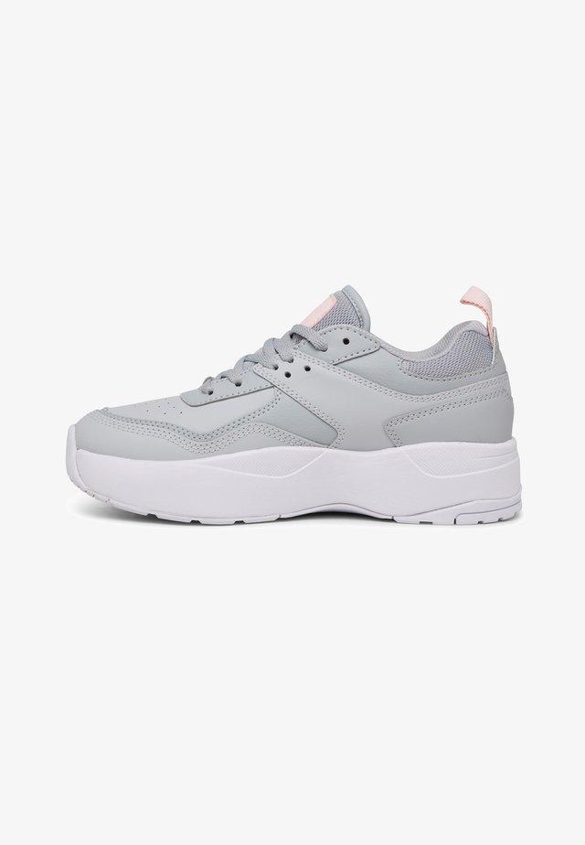 E.TRIBEKA  - Sneakers laag - grey/grey/white