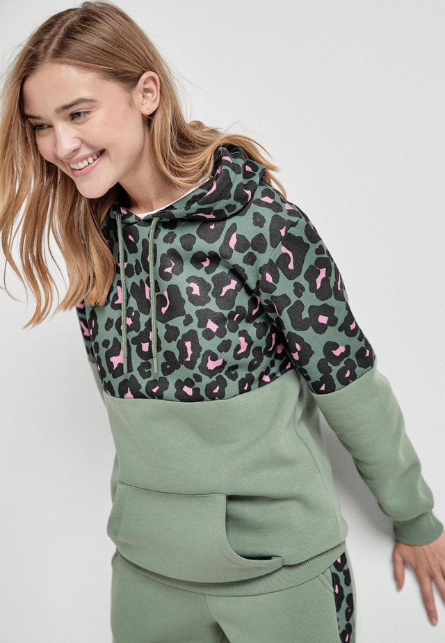 Bluza z kapturem - khaki
