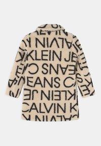 Calvin Klein Jeans - LOGO COAT - Winter coat - whitecap grey/black - 1