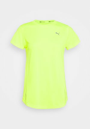IGNITE TEE - Camiseta estampada - fizzy yellow
