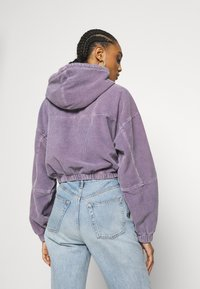 BDG Urban Outfitters - HOODED JACKET - Bomber Jacket - lilac - 2