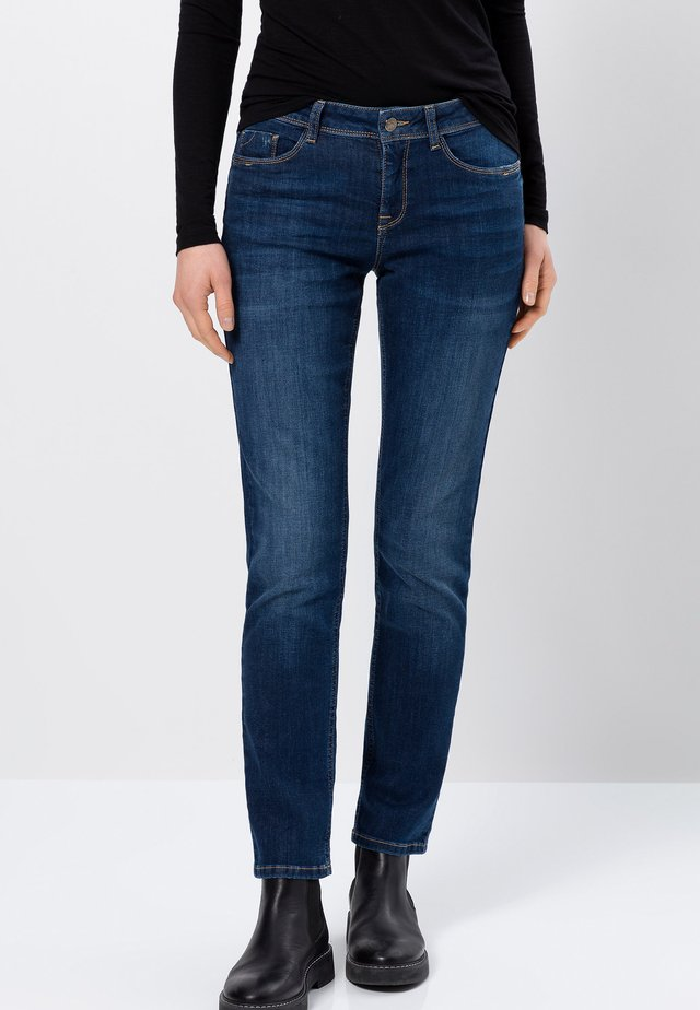 Slim fit jeans - royal blue stone wash