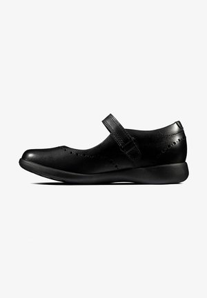 Bailarinas con hebilla - black leather