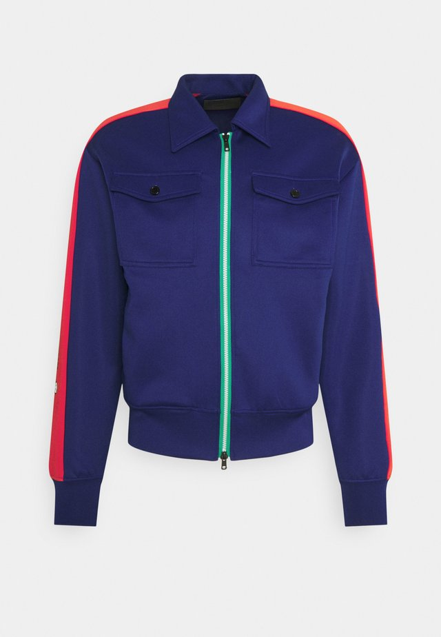 BE A NICE GENTLEMAN JACKET - Zip-up hoodie - navy
