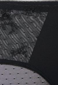 DORINA CURVES - RENA 2 PACK - Briefs - black/pink - 2