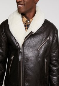 Schott - LCHAMPTON - Leather jacket - brown - 4