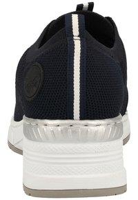 Rieker - RIEKER SNEAKER - Sneakers basse - navy/pazifik 14 - 4