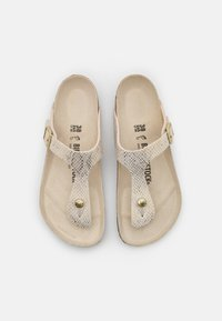 Birkenstock - GIZEH - T-bar sandals - eggshell - 5