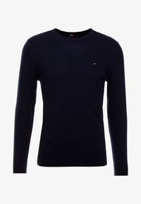 Tommy Hilfiger Tailored - LUXURY - Neule - blue - 3