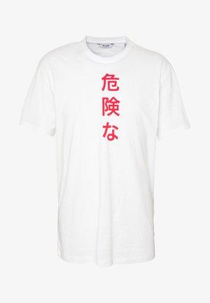 ONSLUNG REG TEE - T-shirts med print - white