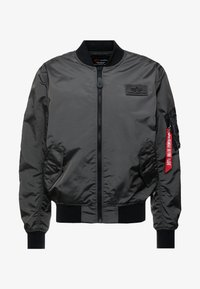 Alpha Industries - Giubbotto Bomber - grey/black - 4