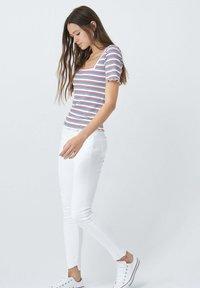 Salsa - FRANCE BODYCON - Print T-shirt - blue / red / white - 4