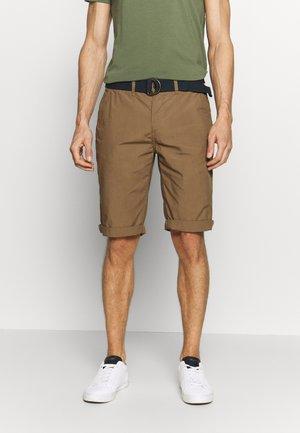 Shorts - deep tobacco