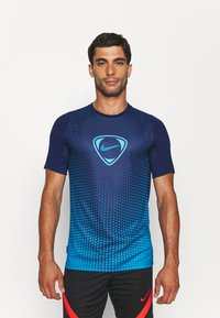 Nike Performance - ACADEMY - Print T-shirt - blue void/imperial blue - 0