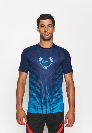 ACADEMY - T-shirt con stampa - blue void/imperial blue