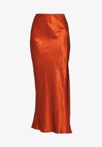 Third Form - ORBIT BIAS SPLIT SKIRT - Jupe longue - copper - 4