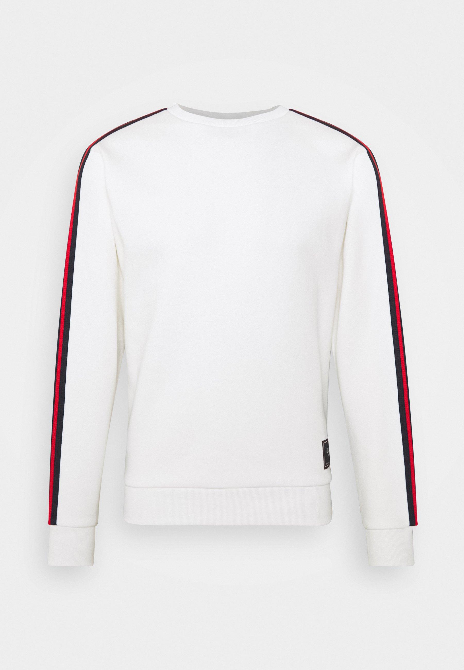 274 BRON ROSE CREW - Sweatshirt - white