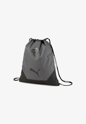 VALENCIA CF FINAL GYM - Drawstring sports bag - puma black smoked pearl