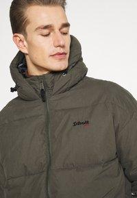 Schott - JKTALASKA - Winter jacket - military green - 3