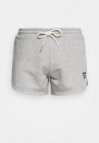 FRENCH TERRY SHORT - Sports shorts - medium grey heather