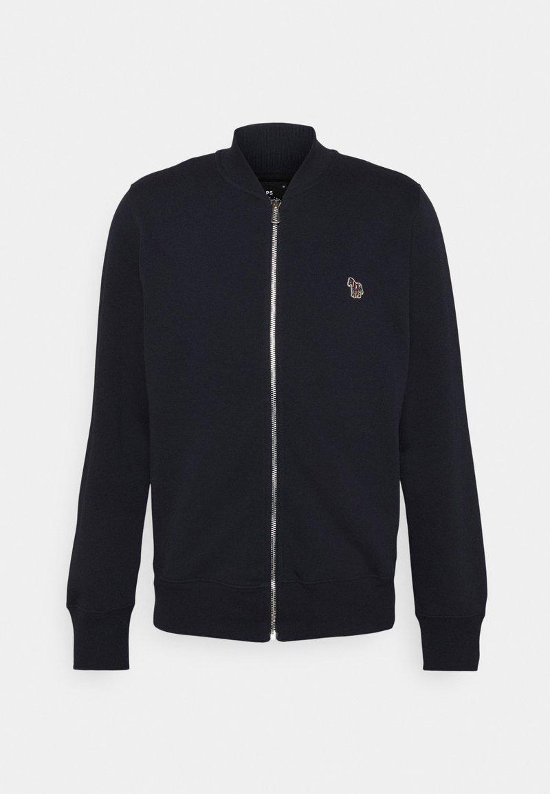 PS Paul Smith - REG FIT ZIP UNISEX - Zip-up sweatshirt - dark  blue