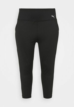 TRAIN FAVORITE FOREVER HIGH WAIST 3/4 PLUS SIZE - Leggings - black