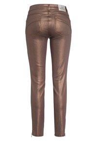 Marc Aurel - Slim fit jeans - shiny cognac - 5
