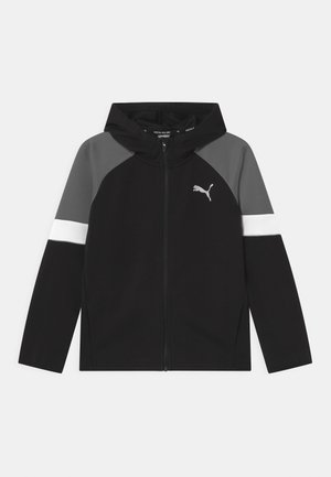 ACTIVE SPORTS FULL-ZIP HOODIE UNISEX - Training jacket - puma black