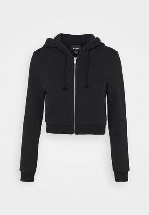 JOANNA HOODIE - Zip-up hoodie - black