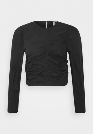 WANTED RUCHE - Bluser - black