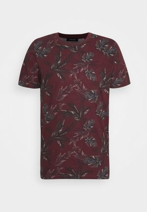 JJCHRIS TEE CREW NECK - Print T-shirt - port royale