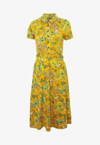 King Louie - DRESS BONSAI - Jerseykjole - spice yellow - 5
