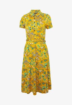 DRESS BONSAI - Jersey dress - spice yellow