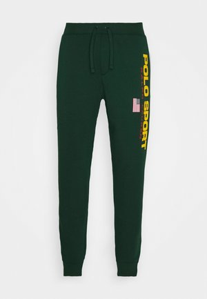 Tracksuit bottoms - college green