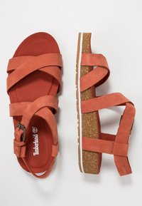 Timberland - MALIBU WAVES ANKLE - Sandals - rust - 3