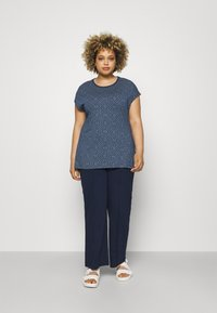 Ragwear Plus - DIONE - T-shirt imprimé - indigo - 1